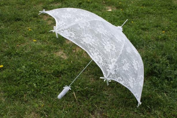 Зонт из гипюра своими руками 40
